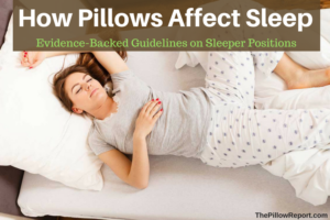 How Pillows Affect Sleep