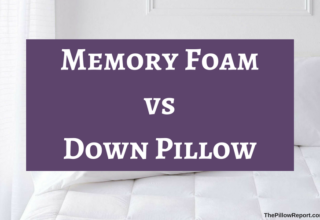 Juxtaposing Memory Foam vs. Down Pillow For their PROs & CONs